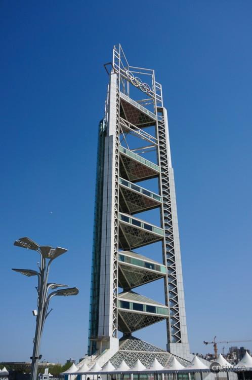 玲珑塔是奥林匹克公园里
